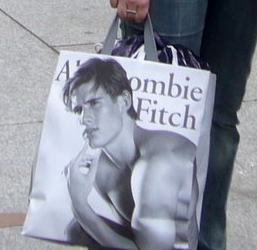 Abercrombie & Fitch shopping bag