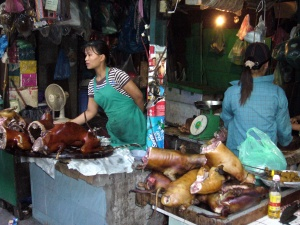 dog meat butcher