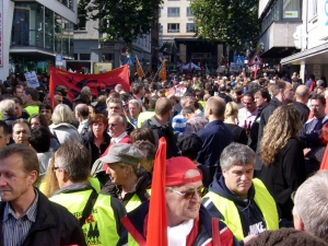 Demonstration against racism in Cologne