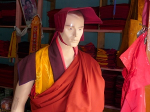 Buddhist monk fashion doll