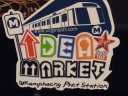 Idea Market at Bangkok's Kamphaeng Phet subway station