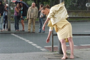 "artist participating in ""Dressing the City"" http://www.angiehiesl.de/eng/index.php?page=art&artid=128"